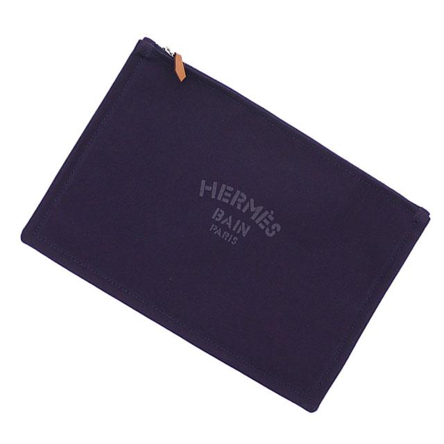 新品 エルメス HERMES YACHTING GM FLAT PORCH クラッチバッグ ポーチ NOCTURNE メンズ レディース 288001195017