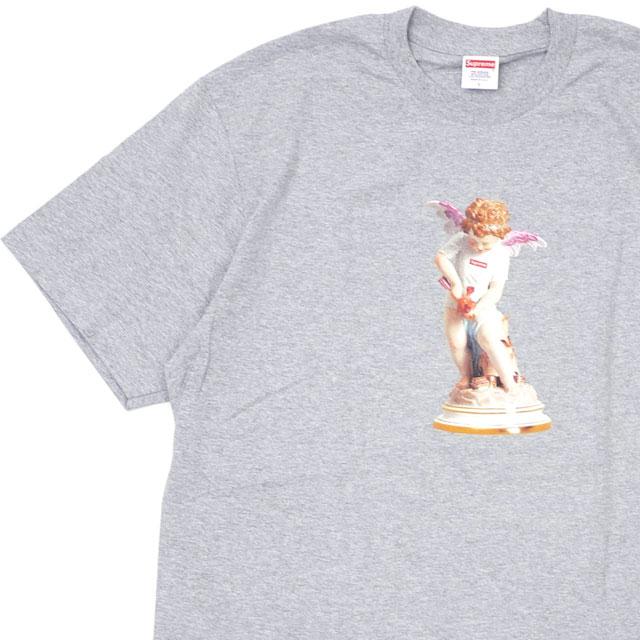 【14:00までのご注文で即日発送可能】 新品 シュプリーム SUPREME 19SS Cupid Tee Tシャツ GRAY グレー 灰色 メンズ 2019SS 新作 200008144142