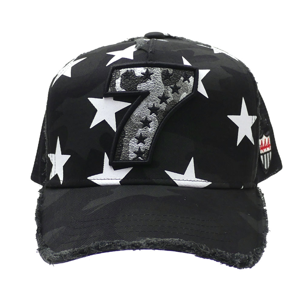新品 ヨシノリコタケ YOSHINORI KOTAKE 7LOGO SILVER CAMO柄 STAR MESH CAP キャッmIg76vbYfy