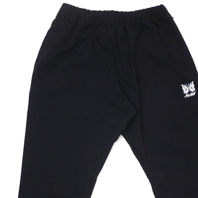新品 ニードルズ NEEDLES x アウグ AWGE Side Line Seam Pocket Easy Pant トラック パンツ BLACK ブラック 黒 メンズ 新作 249000661041
