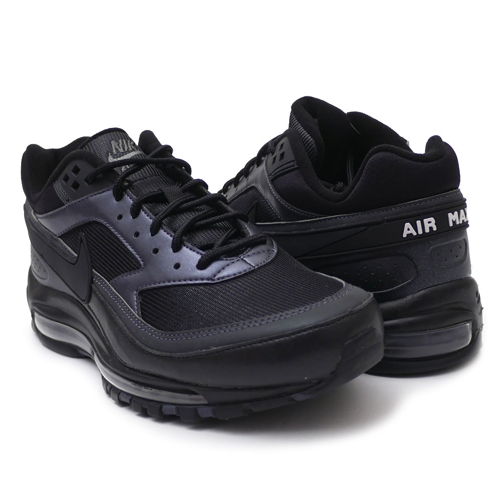 NIKE AIR MAX 97BW BLACKBLACK MTLC HEMATITE Brands
