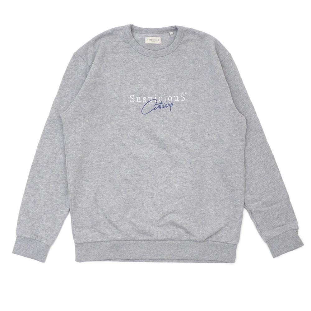 SuspiciouS Antwerp : The Vintage Sweater GRAYxBLUE