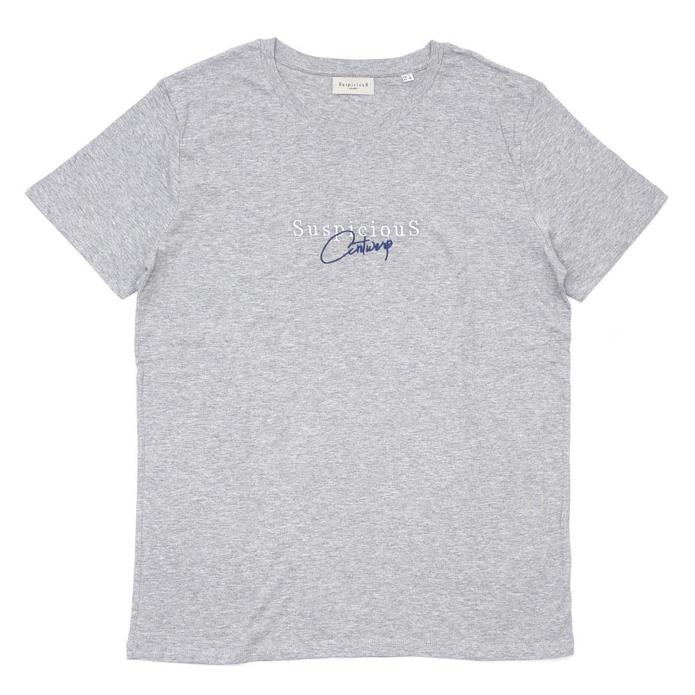 SuspiciouS Antwerp : The Vintage T-Shirt GRAYxBLUE