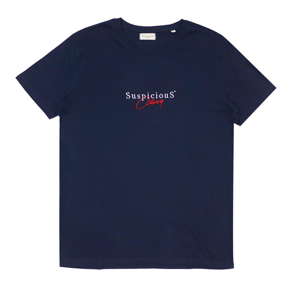 SuspiciouS Antwerp : The Vintage T-Shirt NAVYxRED