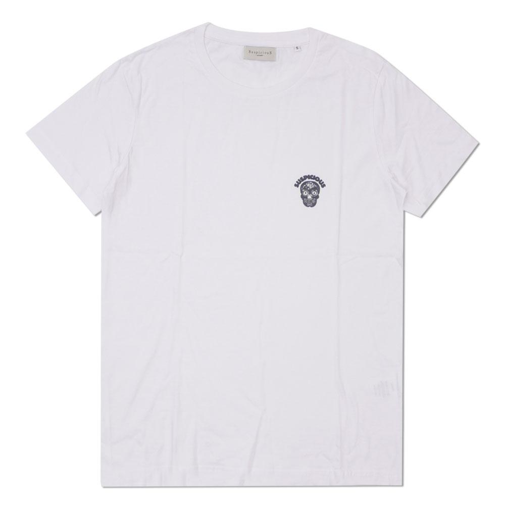 SuspiciouS Antwerp : The Statement T-Shirt WHITExSHADOW
