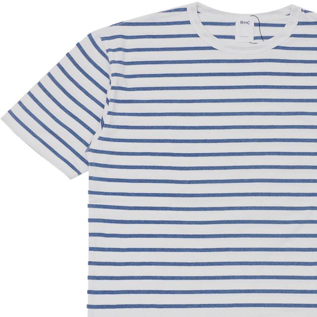 新品 ロンハーマン RHC Ron Herman Border Tee Tシャツ LT.BLUE ブルー 青 メンズ 新作