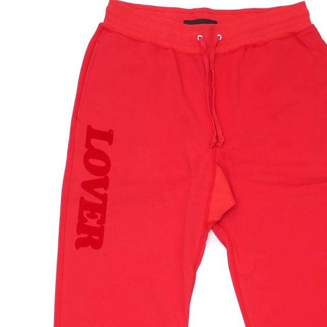 新品 ビアンカシャンドン Bianca Chandon Lover Sweatpants スウェットパンツ RED レッド 赤 メンズ