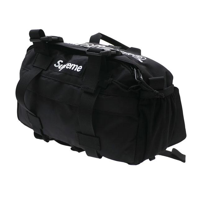 新品 シュプリーム SUPREME Waist Bag ウエストバッグ BLACK ブラック 黒 メンズ レディース 新作