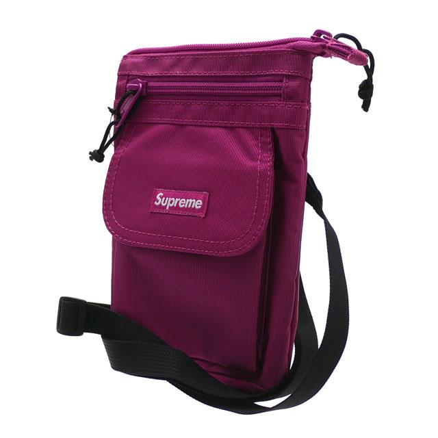 新品 シュプリーム SUPREME Shoulder Bag ショルダーバッグ MAGENTA マゼンタ メンズ レディース 新作