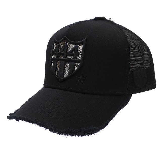 ヨシノリコタケ YOSHINORI KOTAKE 100%安心保証 当店取扱い商品は全て本物・正規商品  新品 ヨシノリコタケ YOSHINORI KOTAKE PYTHON 444 LOGO MESH CAP キャップ BLACK ブラック 黒 メンズ 新作