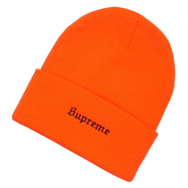 新品 シュプリーム SUPREME x ベンデイビス Ben Davis Beanie ビーニー ORANGE オレンジ メンズ レディース 新作DIHWE29Y