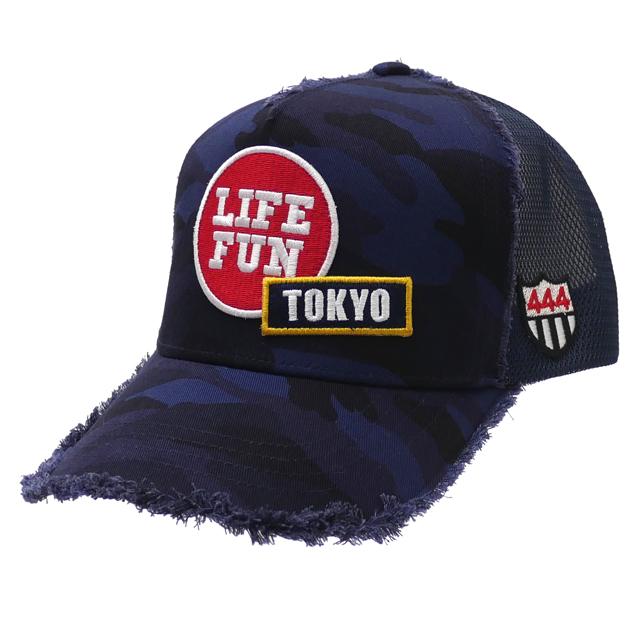 新品 ヨシノリコタケ YOSHINORI KOTAKE TOKYO 2020 CAMO MESH CAP キャップ NAVY ネイビー 紺 メンズ 新作