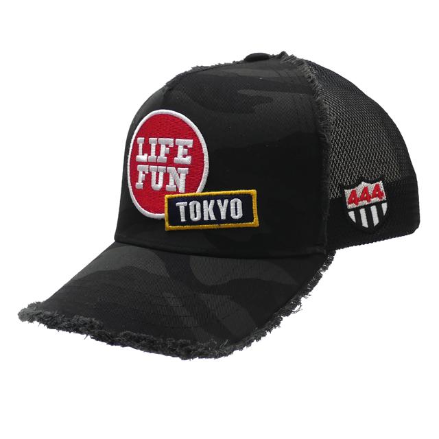 ヨシノリコタケ YOSHINORI KOTAKE 100%安心保証 当店取扱い商品は全て本物・正規商品  新品 ヨシノリコタケ YOSHINORI KOTAKE TOKYO 2020 CAMO MESH CAP キャップ BLACK ブラック 黒 メンズ 新作
