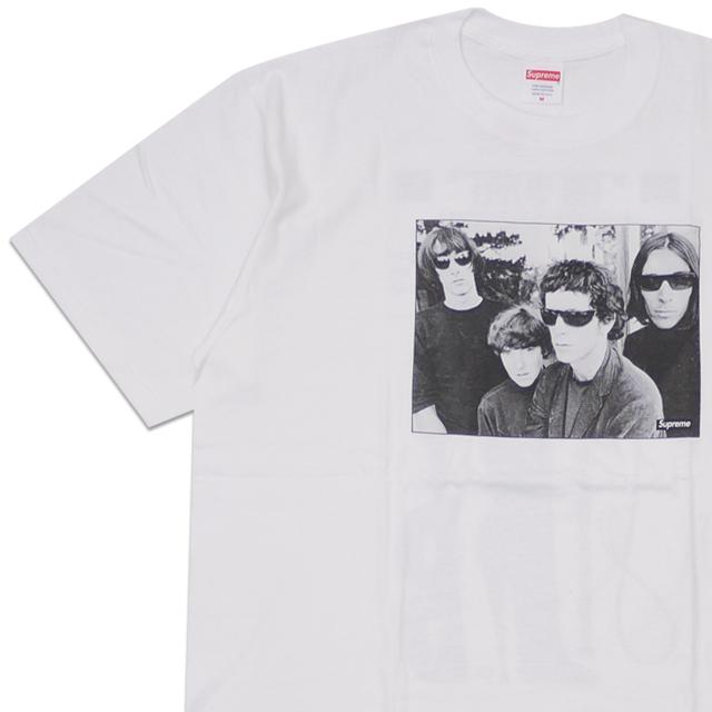新品 シュプリーム SUPREME The Velvet Underground Tee Tシャツ WHITE ホワイト 白 メンズ 新作