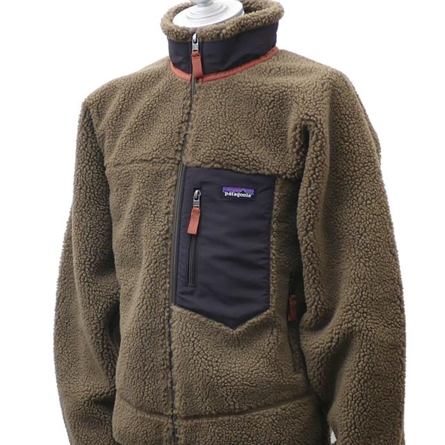 新品 パタゴニア Patagonia M's Classic Retro-X Jacket クラシック レトロX ジャケット フリース パイル カーディガン SAGE KHAKI カーキ SKA 23056 メンズ