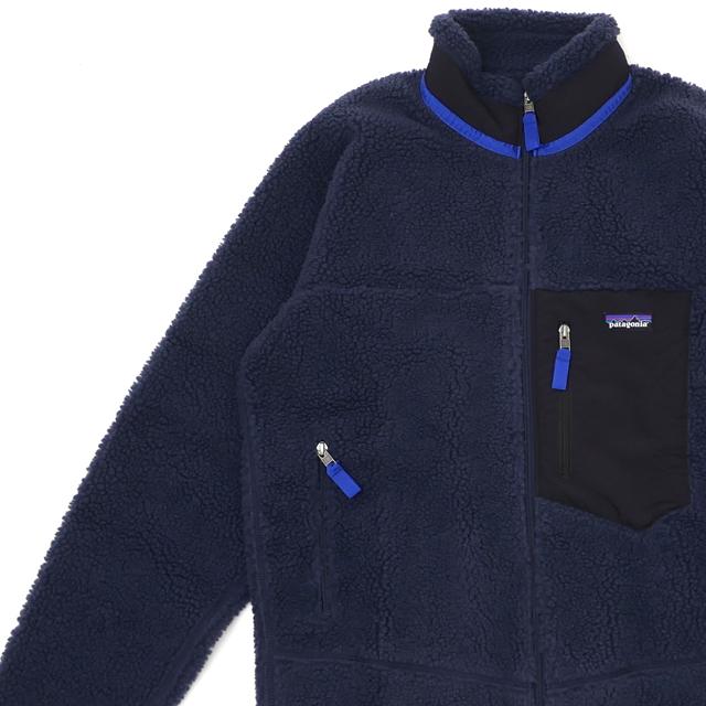 新品 パタゴニア Patagonia M's Classic Retro-X Jacket クラシック レトロX ジャケット フリース パイル カーディガン NEW NAVY ネイビー NENA 23056 メンズ