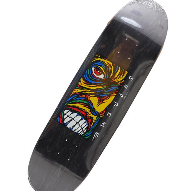 新品 シュプリーム SUPREME 19FW Disturbed Skateboard スケートボード デッキ BLACK ブラック 黒 メンズ 2019FW 19AW 2019AW 新作