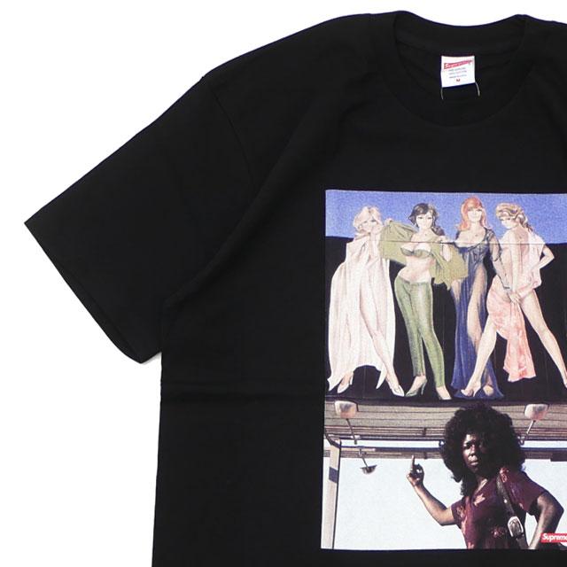 【14:00までのご注文で即日発送可能】 新品 シュプリーム SUPREME American Picture Tee Tシャツ BLACK ブラック 黒 メンズ 新作
