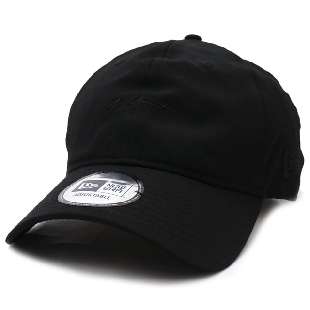 新品 ヨウジヤマモト Yohji Yamamoto x ニューエラ NEW ERA YY SIGN MINI 9THIRTY CAP キャップ BLACKxBLACK メンズ レディース 新作