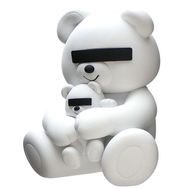 新品 アンダーカバー UNDERCOVER x メディコム・トイ MEDICOM TOY VCD UNDERCOVER BEAR フィギュア WHITE ホワイト 白 メンズ レディース 新作
