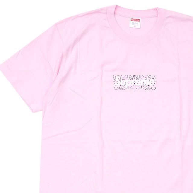 人気新品 【2021年3月度 月間優良ショップ受賞】 LIGHT【14:00までのご注文で即日発送可能 Tシャツ】 ボックスロゴ 新品 シュプリーム SUPREME Bandana Box Logo Tee バンダナ ボックスロゴ Tシャツ LIGHT PINK ピンク メンズ 新作, マダムシンコ:8ea2a5bb --- gerber-bodin.fr