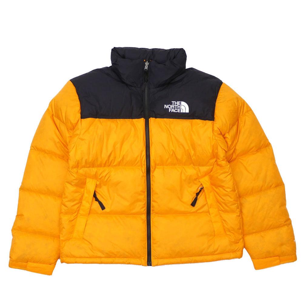 【海外限定】【正規品】【並行輸入品】 新品 ザ ノースフェイス THE NORTH FACE 1996 NUPTSE JACKET ヌプシ ジャケット ZINNIA ORANGE ジニアオレンジ メンズ 新作