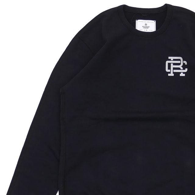 新品 ロンハーマン RHC Ron Herman x レイニングチャンプ REIGNING CHAMP Crew Neck Sweat Shirt スウェット BLACK ブラック 黒 メンズ 新作