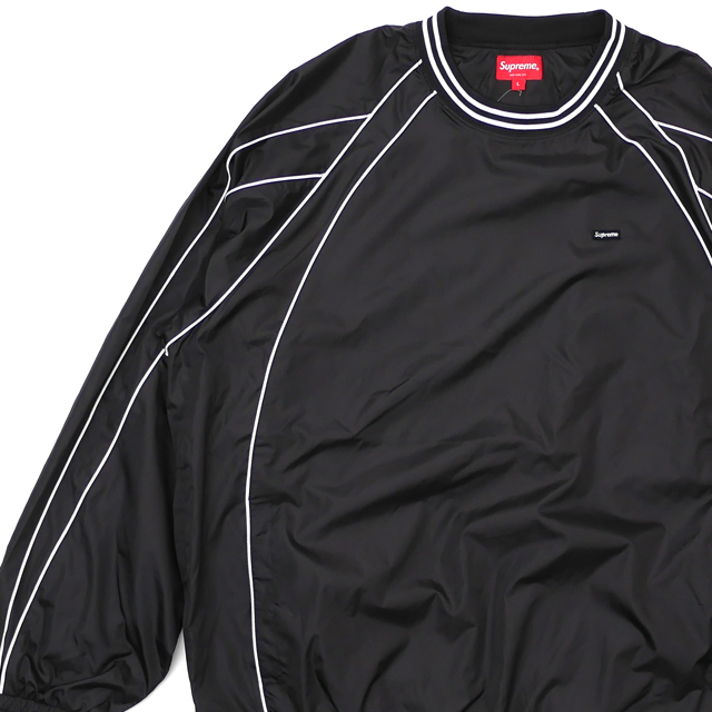 新品 シュプリーム SUPREME Piping Warm Up Pullover ジャケット BLACK ブラック 黒 メンズ 新作