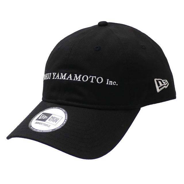 新品 ヨウジヤマモト Yohji Yamamoto x ニューエラ NEW ERA 20SS 9THIRTY CAP キャップ BLACK ブラック 黒 メンズ レディース 2020SS 新作
