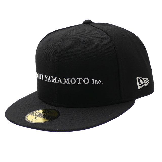 新品 ヨウジヤマモト Yohji Yamamoto x ニューエラ NEW ERA 20SS 59FIFTY CAP キャップ BLACK ブラック 黒 メンズ レディース 2020SS 新作