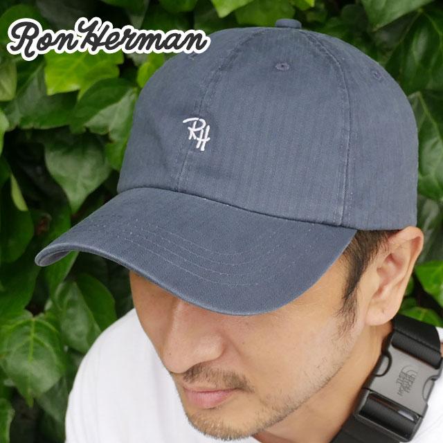 新品 ロンハーマン Ron Herman RH HERRINGBONE CAP キャップ NAVY ネイビー 紺 メンズ レディース 新作