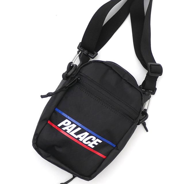 新品 パレス スケートボード Palace Skateboards 20SS DIMENSION SHOT BAG ショルダーバッグ BLACK ブラック 黒 メンズ 20SS 新作
