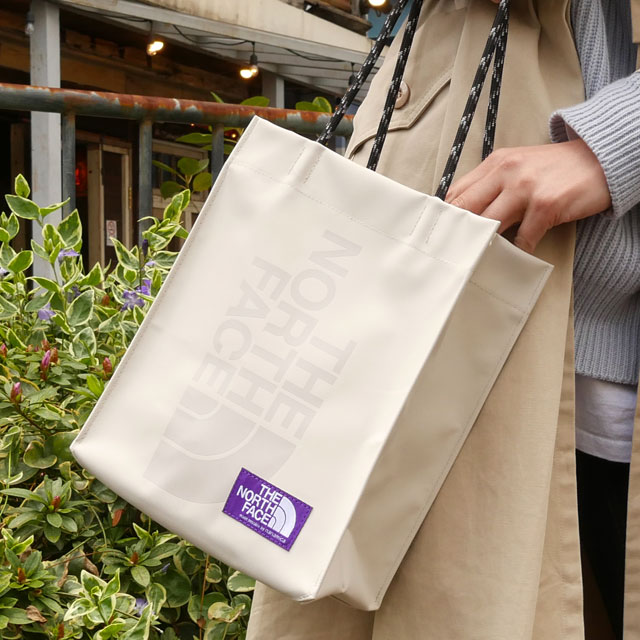 新品 ザ・ノースフェイス パープルレーベル THE NORTH FACE PURPLE LABEL TPE Shopping Bag S トートバッグ ショッピングバッグ BE(BEIGE) 新作 NN7002N