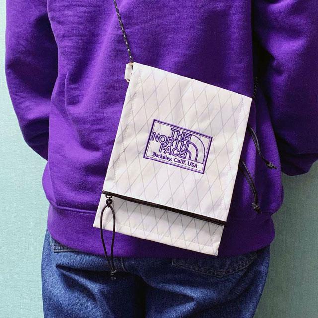 新品 ザ・ノースフェイス パープルレーベル THE NORTH FACE PURPLE LABEL X-Pac Utility Pocket Bag W(WHITE) 新作 NN7011N