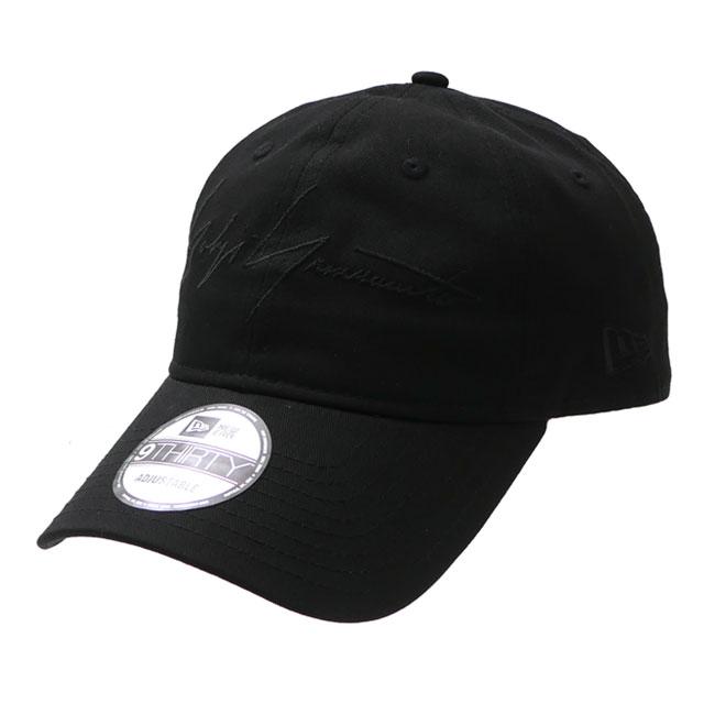 新品 ヨウジヤマモト Yohji Yamamoto x ニューエラ NEW ERA 20SS 9THIRTY YY CAP キャップ BLACK ブラック 黒 メンズ レディース 2020SS 新作