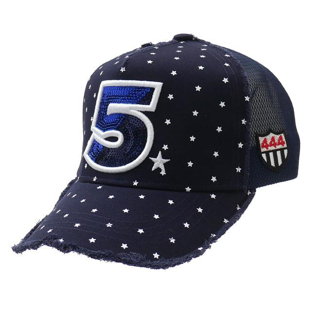 新品 ヨシノリコタケ YOSHINORI KOTAKE 5LOGO SMALL STAR MESH CAP キャップ NAVY ネイビー メンズ レディース 新作