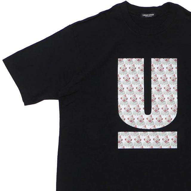 新品 アンダーカバー UNDERCOVER 店舗限定 UCY9812 U LOGO TEE Tシャツ BLACK ブラック メンズ