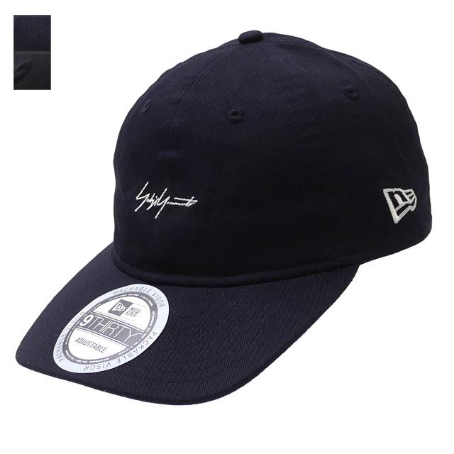 新品 ヨウジヤマモト Yohji Yamamoto x ニューエラ NEW ERA 20SS 9THIRTY Cotton Packable Logo Cap キャップ メンズ レディース 2020SS 新作