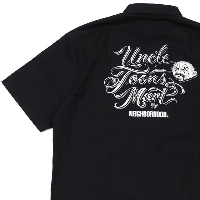 新品 ネイバーフッド NEIGHBORHOOD x ミスター・カートゥーン Mister Cartoon 20SS NHMC/EC-SHIRT.SS 半袖シャツ BLACK ブラック メンズ 2020SS 新作 201TSMCN-SHM01S