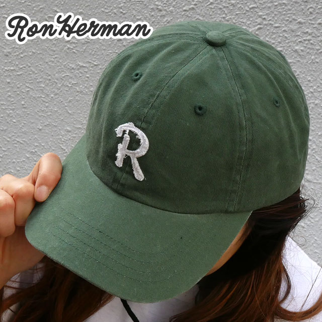 新品 ロンハーマン RHC Ron Herman R CAP キャップ OLIVE オリーブ メンズ レディース 新作