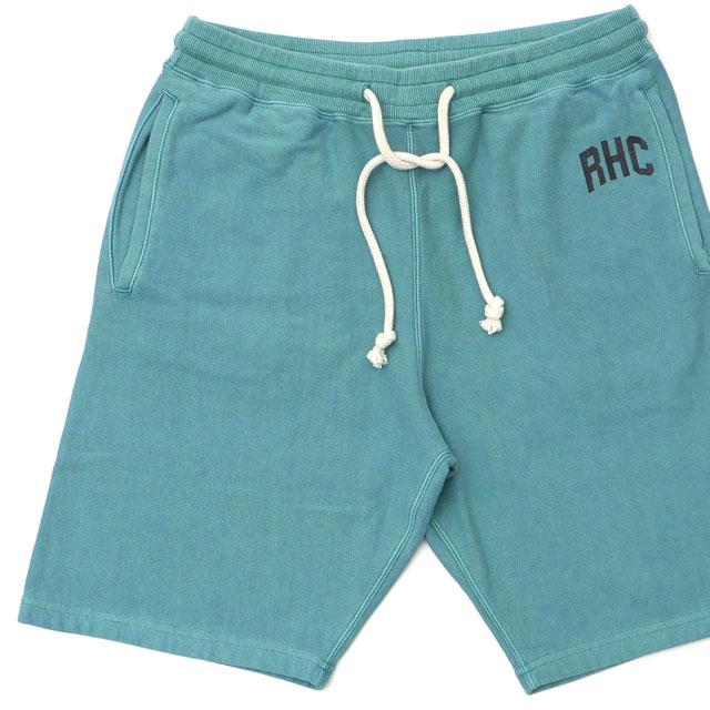 新品 ロンハーマン RHC Ron Herman Logo Sweat Shorts スウェット ショーツ GREEN グリーン 緑 メンズ 新作