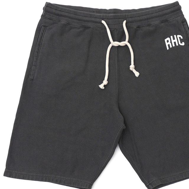 新品 ロンハーマン RHC Ron Herman Logo Sweat Shorts スウェット ショーツ BLACK ブラック 黒 メンズ 新作