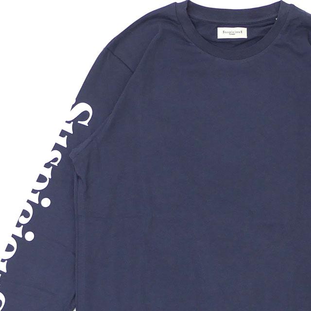 新品 サスピシアス アントワープ SuspiciouS Antwerp The Voyager Longsleeve Type1 長袖Tシャツ NAVYxWHITE ユニセックス 新作