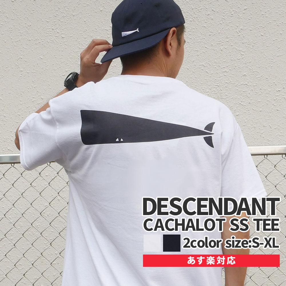 【14:00までのご注文で即日発送可能】 新品 ディセンダント DESCENDANT 20SS CACHALOT SS TEE Tシャツ メンズ 新作 2020SS 201NTDS-CSM03S