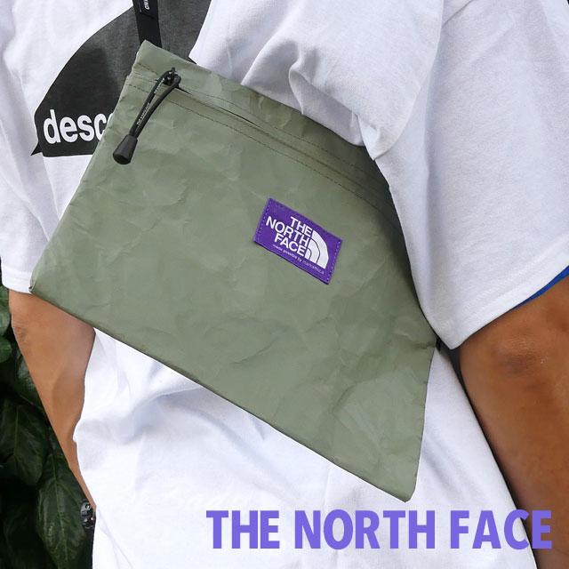新品 ザ・ノースフェイス パープルレーベル THE NORTH FACE PURPLE LABEL Teck Paper Small Shoulder Bag ショルダー バッグ SG(SAGE GREEN) 新作 NN7052N
