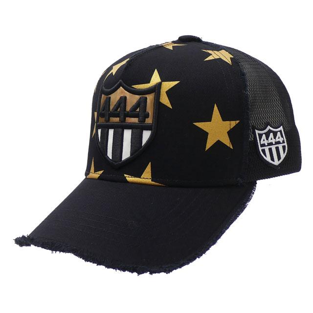 BLACK METALLIC KOTAKE レディース CAP MESH ヨシノリコタケ 新作 新品 YOSHINORI キャップ ブラック メンズ STAR 444LOGO 黒
