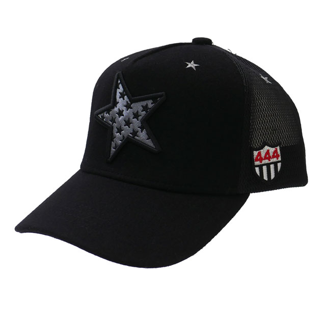 MESH 新品 CAP ヨシノリコタケ STAR 新作 メンズ METALLIC KOTAKE キャップ レディース 黒 YOSHINORI BLACK ブラック