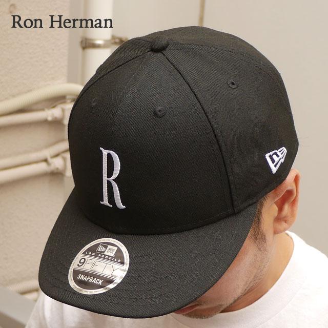 ロンハーマン Ron Herman 100%安心保証 当店取扱い商品は全て本物 正規商品 お買得 2021年3月度 月間優良ショップ受賞 販売数激少 14:00までのご注文で即日発送可能 新品 RHC x ニューエラ ブラック CAP R ERA 新作 9FIFTY 黒 BLACK レディース 39ショップ メンズ キャップ NEW ふるさと割