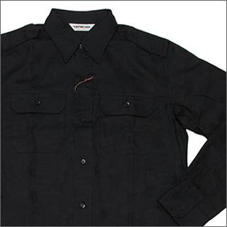 A BATHING APE(에이프) CAMO 보이 스카우트 셔츠 BLACK