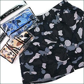 A BATHING APE (APE) STA CAMO shorts